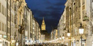 Sendlinger Straße: Neue Fußgängerzone strahlt in der Adventszeit