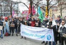 """Über 350 Menschen heute bei der Kundgebung """"München Klimaneutral bis 2035"""""""