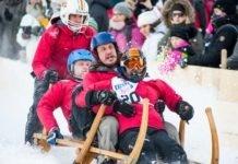 Winterliche Sport-Events in Garmisch-Partenkirchen