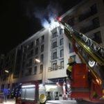 Bogenhausen: Brand auf einer Baustelle