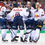 EHC Red Bulls München drehen Spiel in Bremerhaven