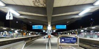 Herrenlose Reisetasche sorgt für Polizeieinsatz am Hauptbahnhof