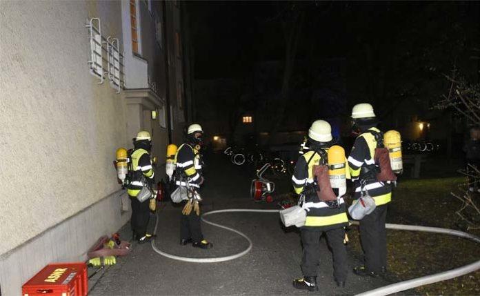 Zimmerbrand in Obergiesing-Fasangarten