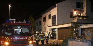 Zwei Schwerbrandverletzte bei Zimmerbrand