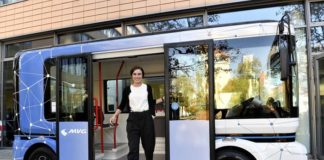 Test mit automatisierten Kleinbussen im Olympiapark: So sehen die Fahrzeuge aus