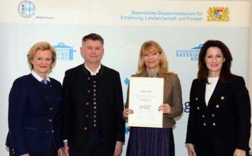 """Der Waldgasthof Buchenhain erneut als """"Ausgezeichnete Bayerische Küche in Bestform"""" klassifiziert"""