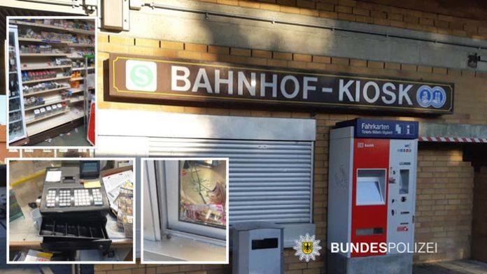 Kioskaufbruch in Harthaus - Bundespolizei sucht nach Zeugen