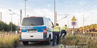 Stark alkoholisierte 15-Jährige stürzte vom Bahnsteig in den Gleisbereich