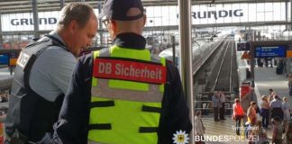 DB-Security ins Gesicht gespuckt