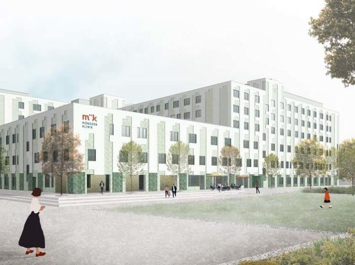 Das Neubauprojekt München Klinik Harlaching startet Anfang 2020 planmäßig mit der Baufeldfreimachung