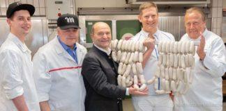 17. traditionelle Weißwurstprüfung der Metzger-Innung München