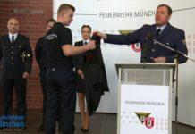 Neue Dienstkleidung der Feuerwehr München vorgestellt