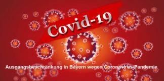 Ausgangsbeschränkung in Bayern wegen Coronavirus-Pandemie