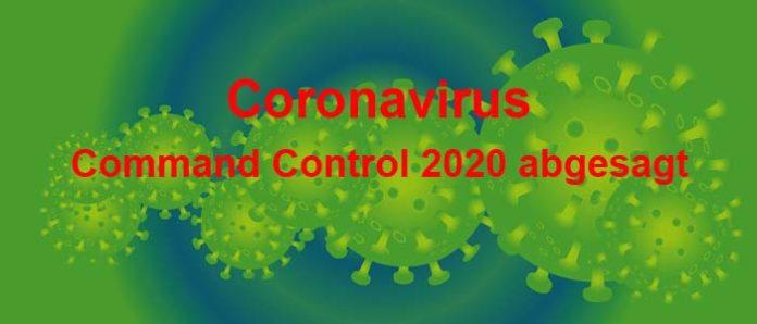 Command Control 2020 wegen Coronavirus abgesagt