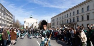 St. Patrick's Day in München