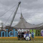 """""""Munich loves Europe"""" im Olympiapark – noch 100 Tage bis zum Start der UEFA EURO 2020"""