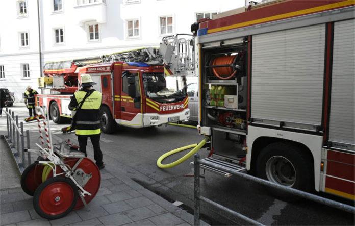 Wohnung nach Brand nicht mehr bewohnbar