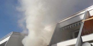 Laim: Wohnungsbrand durch heißes Fett