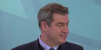 Pressekonferenz zum Thema Coronavirus in der Bayerischen Staatskanzlei