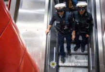 Bundespolizisten ins Gesicht gespuckt