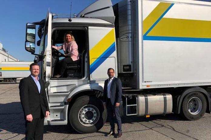 Bauministerin besucht Logistikzentrum bei München: Versorgung dank Ausnahmeregelung bei Lieferzeiten gesichert
