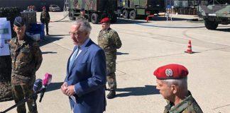 Herrmann: Bundeswehr wichtiger Partner zur Eindämmung des Coronavirus