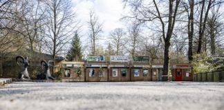Ein Tierpark ohne Besucher
