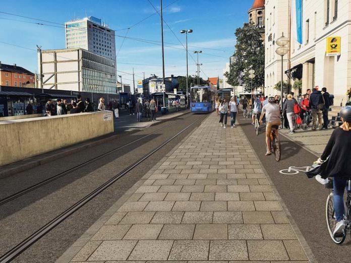 Mehr Platz für die Tram am Hauptbahnhof: Umbau beginnt am 6. April 2020 – Bahnhofplatz gesperrt