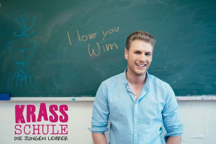 Krass Schule-Star Adriaan van Veen in der beliebten RTL-Serie Unter Uns