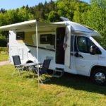Camping-Urlauber in den Startlöchern