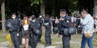 Theresienwiese: Demo gegen Corona-Maßnahmen - Fazit der Polizei
