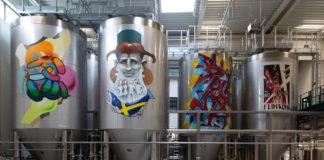 9 Münchner Graffiti-Legenden bemalen Tanks beim Giesinger Bräu