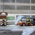 Landsberger Straße: Alter VW-Bus ausgebrannt