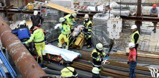 Laim: Bauarbeiter auf Baustelle schwer verletzt