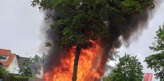 Neuaubing: Campingbus ausgebrannt