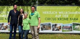 Circus Krone Farm öffnet erstmals die Tore für Besucher