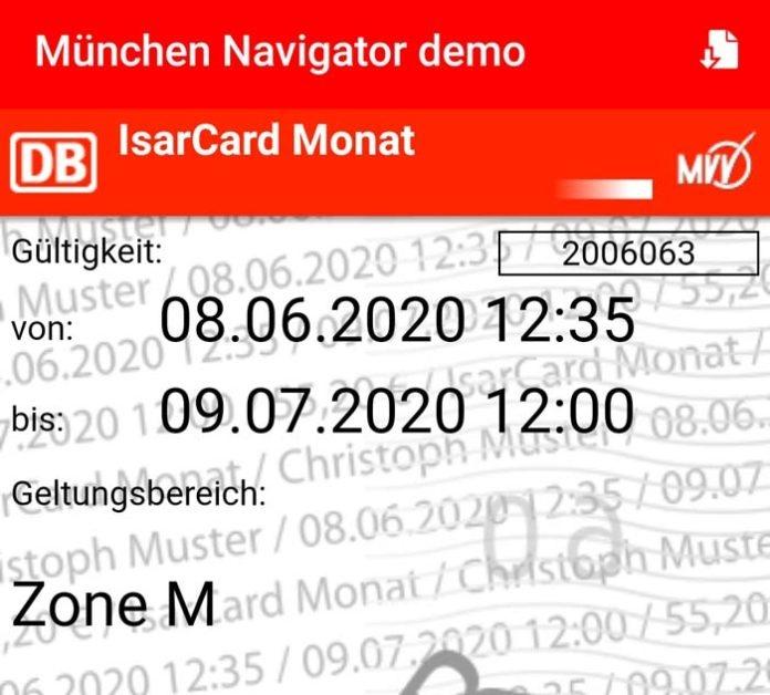 Einfacher und kontaktloser Fahrkartenkauf: Zeitkarten im MVV ab sofort als HandyTicket erhältlich
