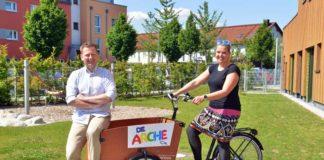 """Corona: Lastenräder für """"Die Arche"""" in München-Moosach"""
