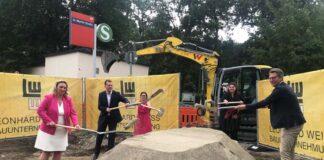Startschuss für den barrierefreien Ausbau der Station St. Martin-Straße