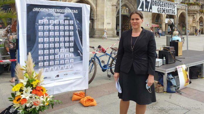 Drogentotengedenktag 2020: Dritte Bürgermeisterin Verena Dietl unterstützt Konsumraum-Forderung