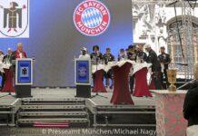 Empfang der Stadt München für den Double-Gewinner FC Bayern München