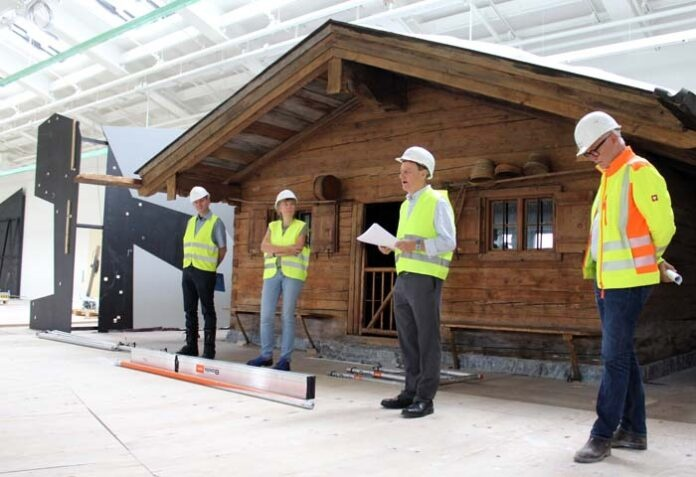 Endspurt für den ersten Bauabschnitt: So läuft's auf der Großbaustelle des Deutschen Museums