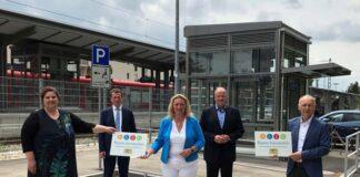 Bahnhöfe Unterschleißheim und Lohhof vollständig barrierefrei