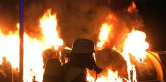 Glockenbachviertel und Au-Haidhausen: Mehrere Mülltonnen brannten in der Nacht
