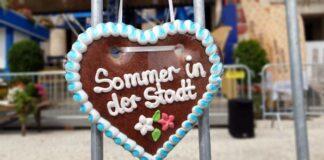 Sommer in der Stadt: Schausteller und Marktkaufleute sind dabei
