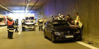 Verkehrsunfall auf der A99 (Aubing)