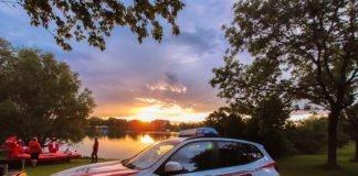 Großeinsatz der Wasserwacht München: Vermisstensuche am Fasaneriesee