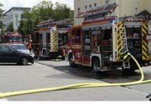 Sendling-Westpark: Wohnungsbrand mit zwei Verletzten
