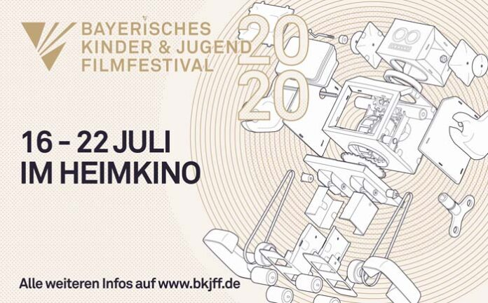 Das Bayerische Kinder & Jugend Filmfestival 2020 findet vom 16. bis 22. Juli online statt