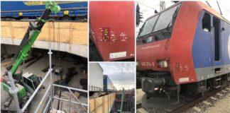 Gefährlicher Eingriff in den Schienenverkehr - Bahnbetriebsunfall im Rangierbahnhof Laim